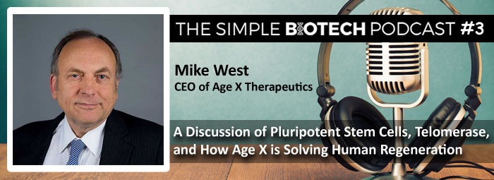 Mike West - CEO of Age X Therapeutics